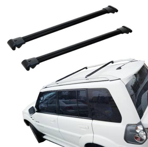 Travessas Mitsubishi Tr4 2011 A 2014 2015 Rack Preto Bepo