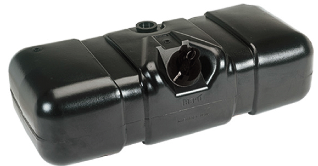 Tanque Comb. Plástico 150l  Mb 709 912 914c Accelo  - TERRA DE ASFALTO ACESSÓRIOS