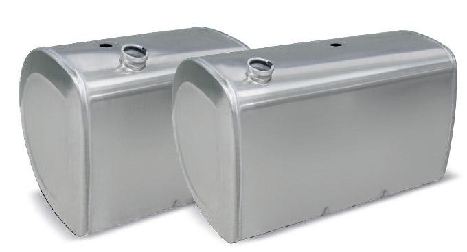 Tanque De Combustível Em Alumínio Volvo Fh (Tipo D)