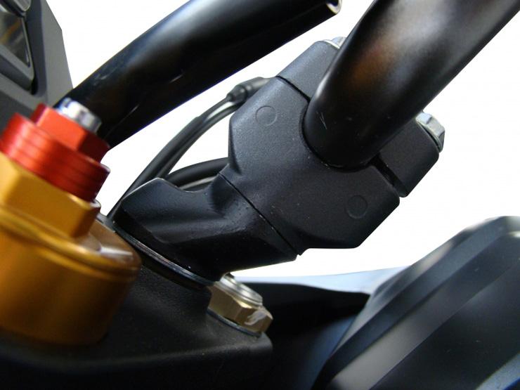 Riser Recuado - Suzuki Dl 1000 V-Strom  Anker  - TERRA DE ASFALTO ACESSÓRIOS