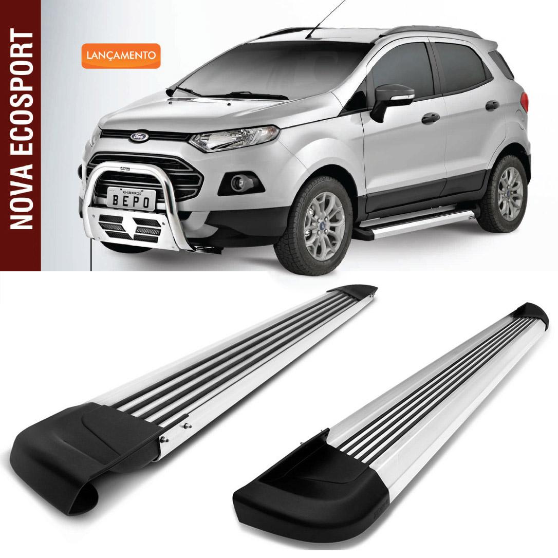 Estribo de alumínio modelo g2 - ford ecosport - bepo