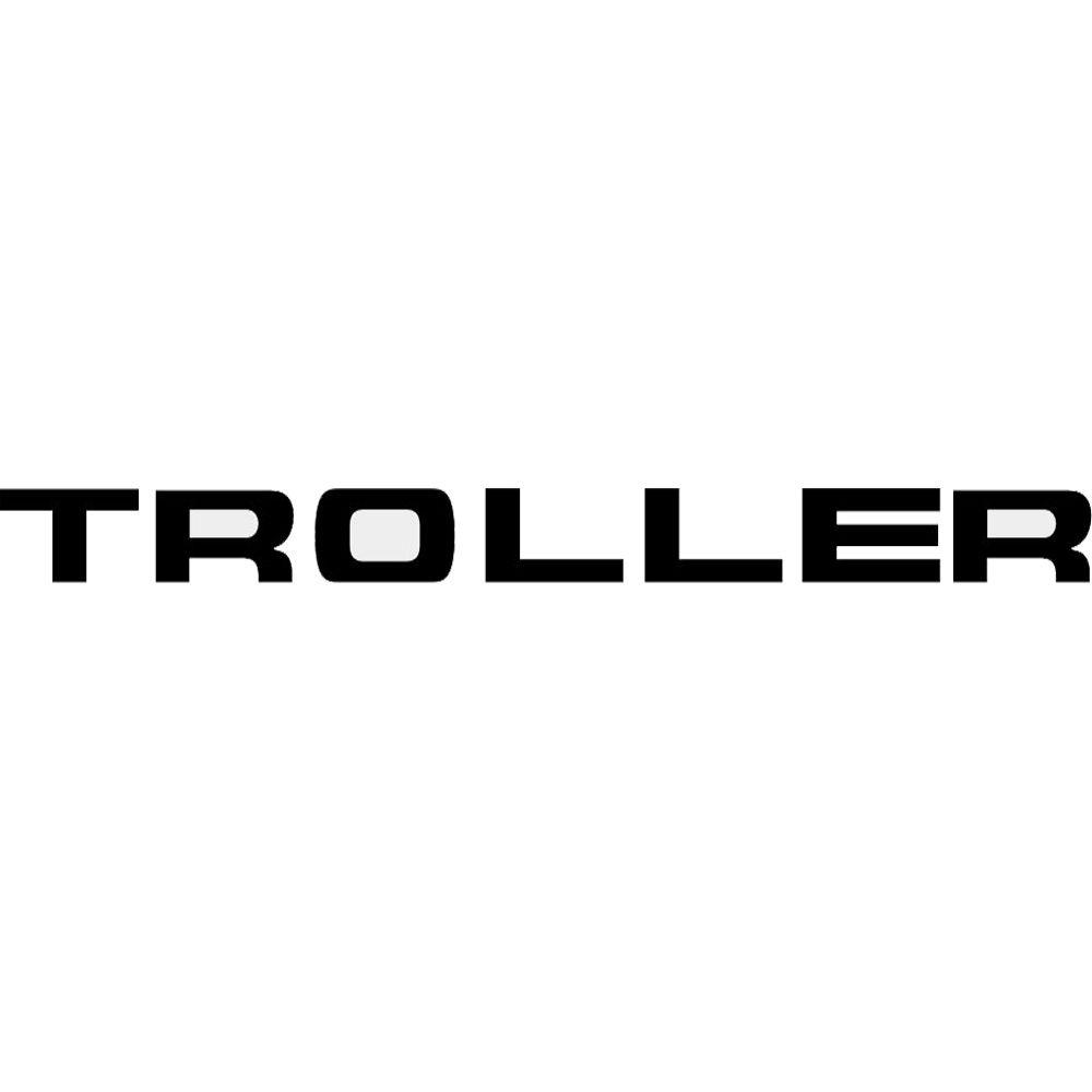 Adesivo Logo Grade Preto Troller T4 2015