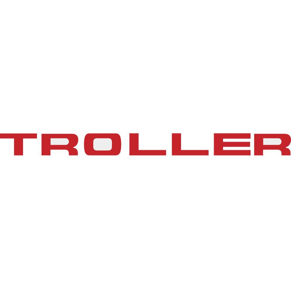 Adesivo Logo Grade Vermelho Troller T4 2015