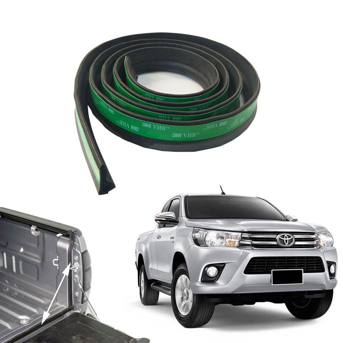 Borracha Veda Caçamba Toyota Hilux 2016 a 2020