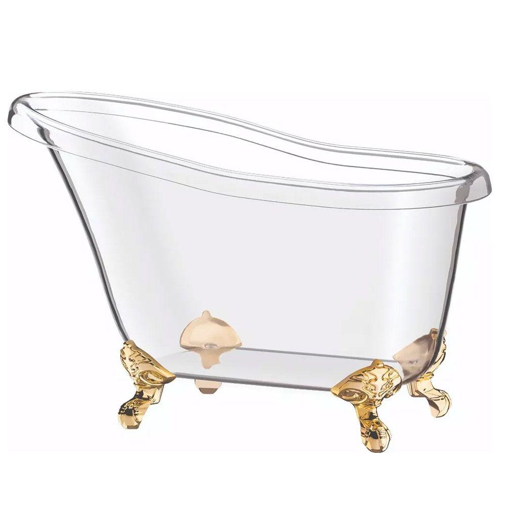 Champanheira Banheira - Ideal 4 Garrafas - Transparente