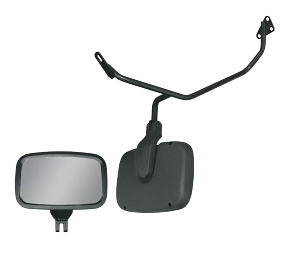 Conjunto Espelho Auxiliar Frontal Convexo com Braço - SC / VW / Ford / MB / Volvo / Iveco