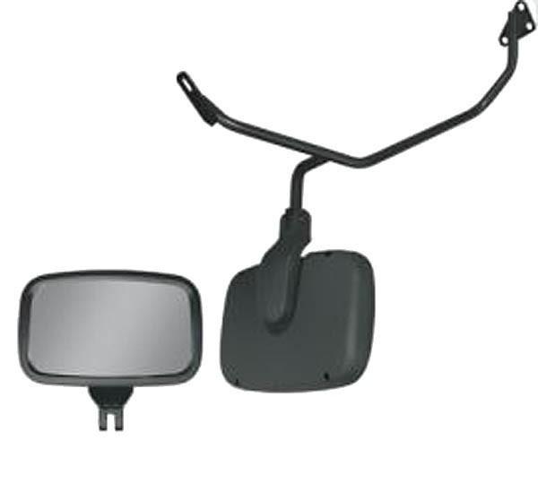 Conjunto Espelho Auxiliar Frontal Convexo com Braço MB Atego / Axor Cabine Baixa