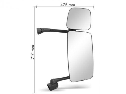 Conjunto Espelho Convexo C /  Bifocal Convexo LD SC TR124P