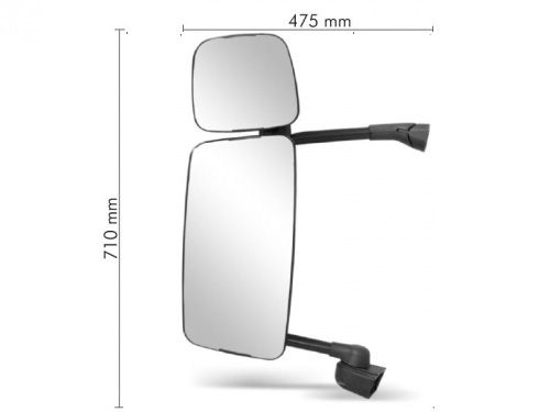Conjunto Espelho Convexo C /  Bifocal Convexo LE para SC TR124P