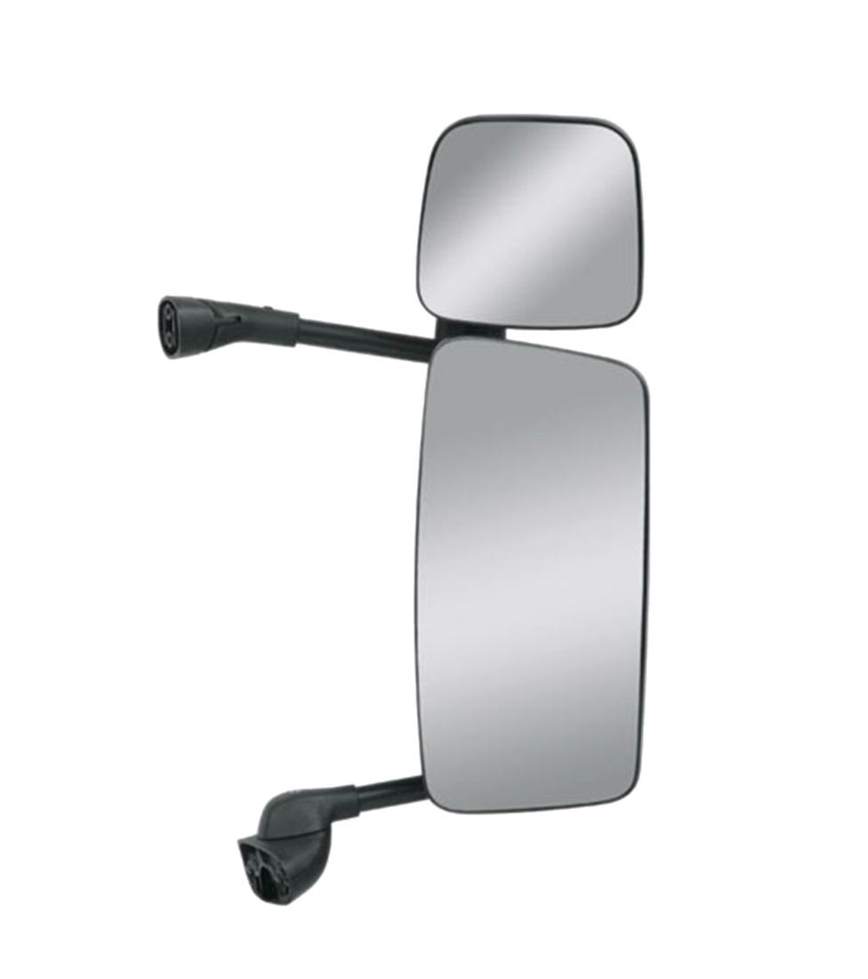 Conjunto Espelho Retrovisor com Espelho Auxiliar SC S5 P250/P270/P310/P340/P360 até 2018 Econômico
