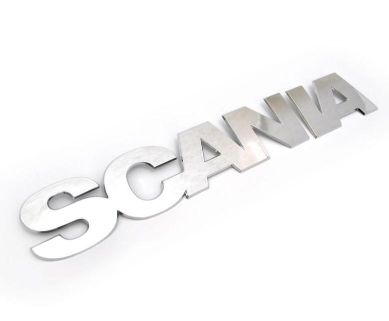 Emblema Scania P S5 moderno 2013 em diante