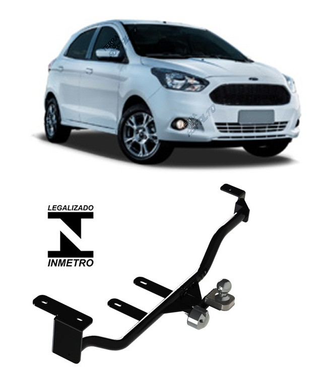 Engate de Reboque Fixo Novo Ka Hatch 2015...