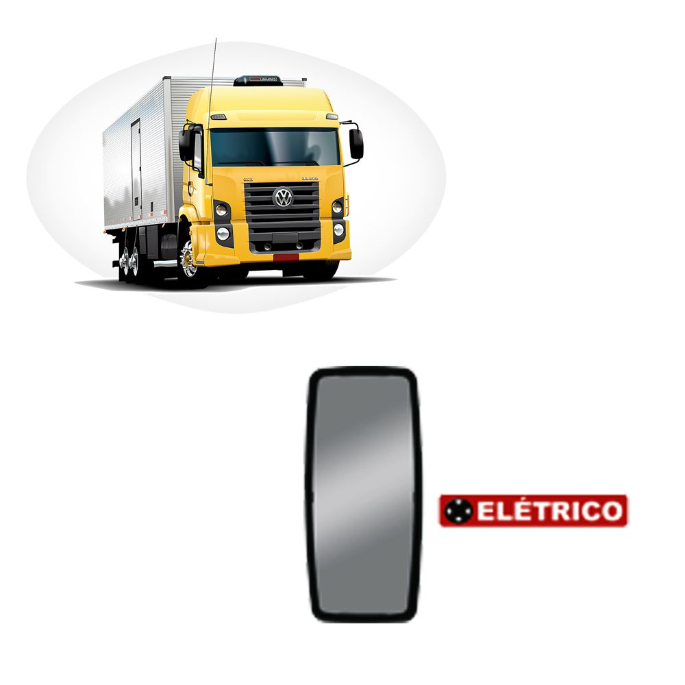 Espelho Elétrico Convexo Para VW Constellation Ld/Le