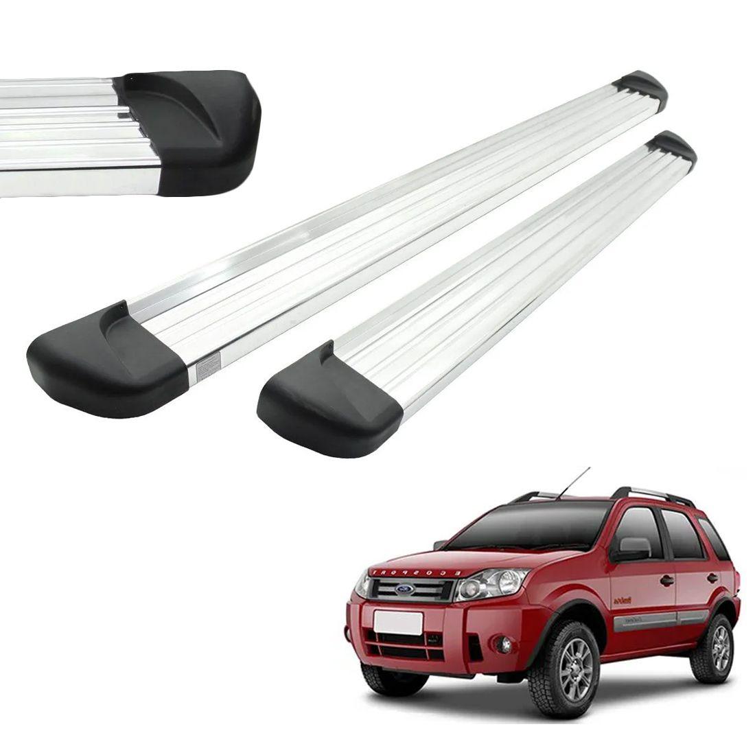 Estribo Aluminio Polido Ecosport 2003 a 2010 2011 2012