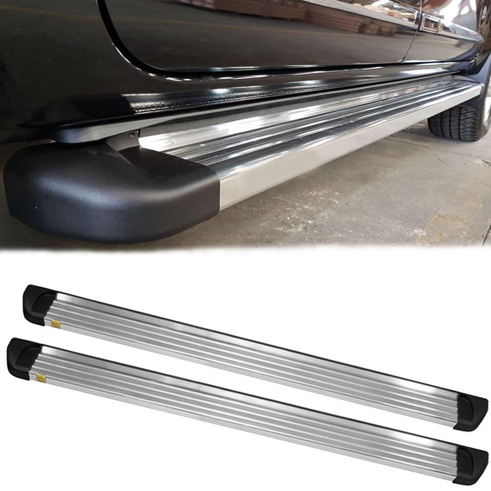 Estribo Alumínio Polido - Gm S10 Cabine Dupla 2012 a 2020