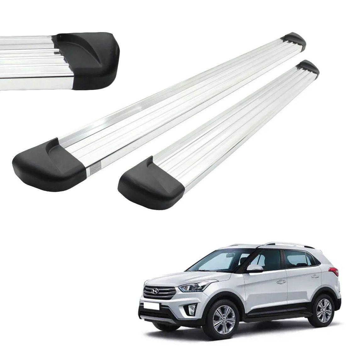 Estribo Aluminio Polido Hyundai Creta