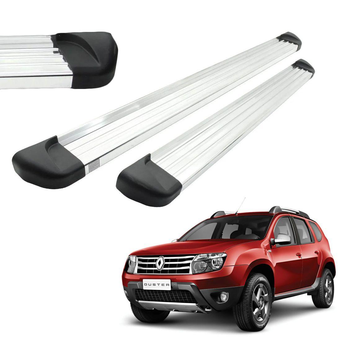 Estribo Aluminio Polido Renault Duster