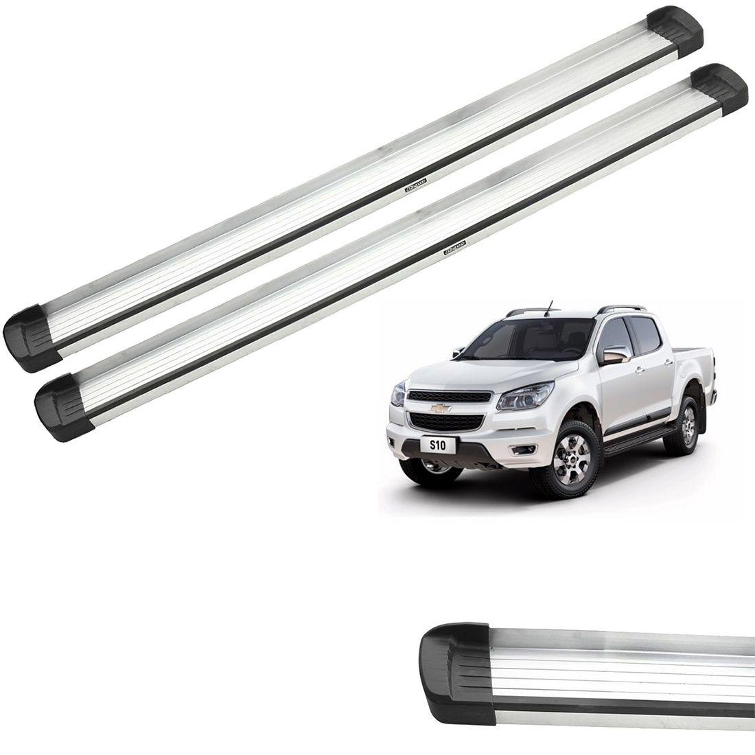 Estribo Bepo G3 Aluminio S10 2012 a 2019