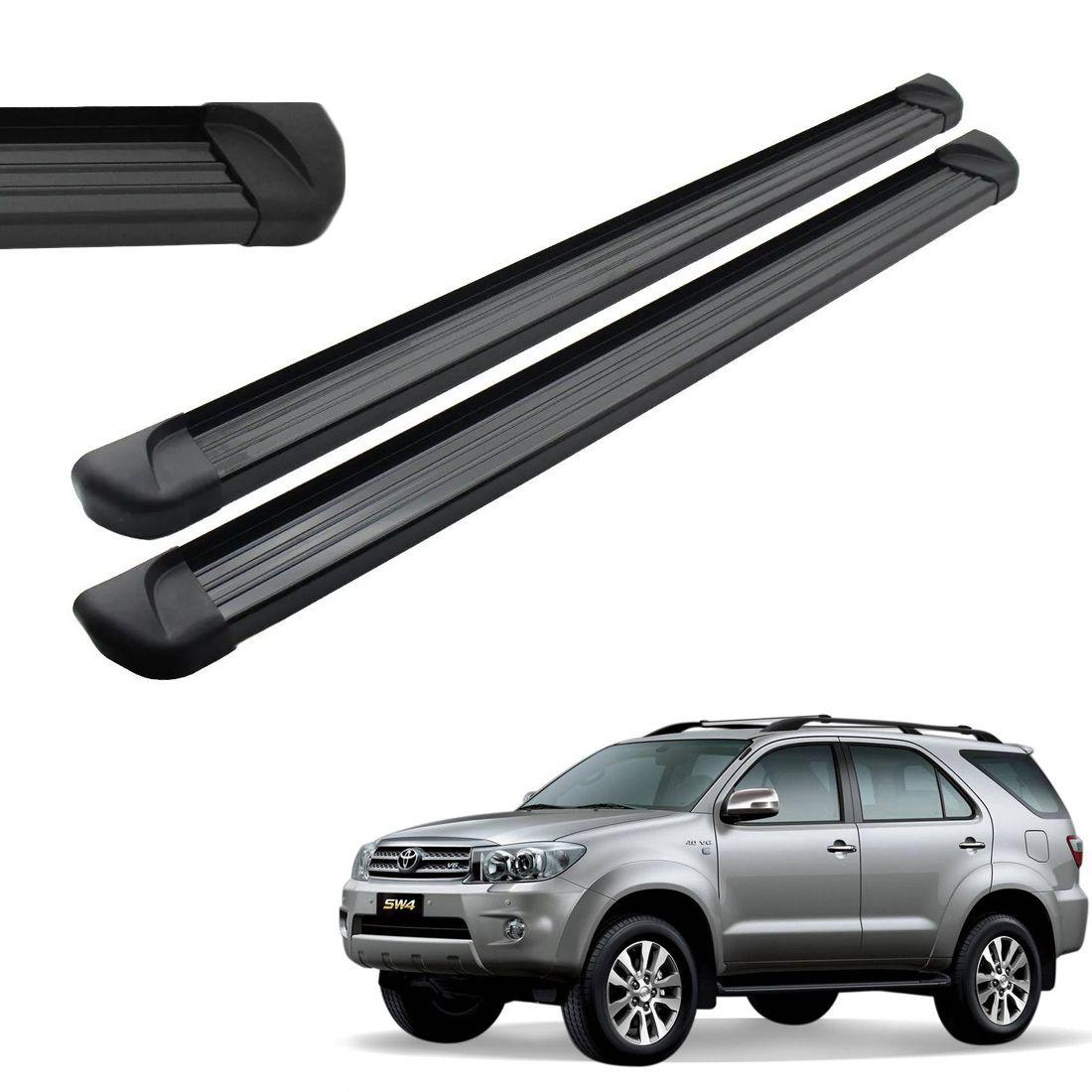 Estribo Lateral Aluminio Preto Sw4 2005 a 2013 2014 2015