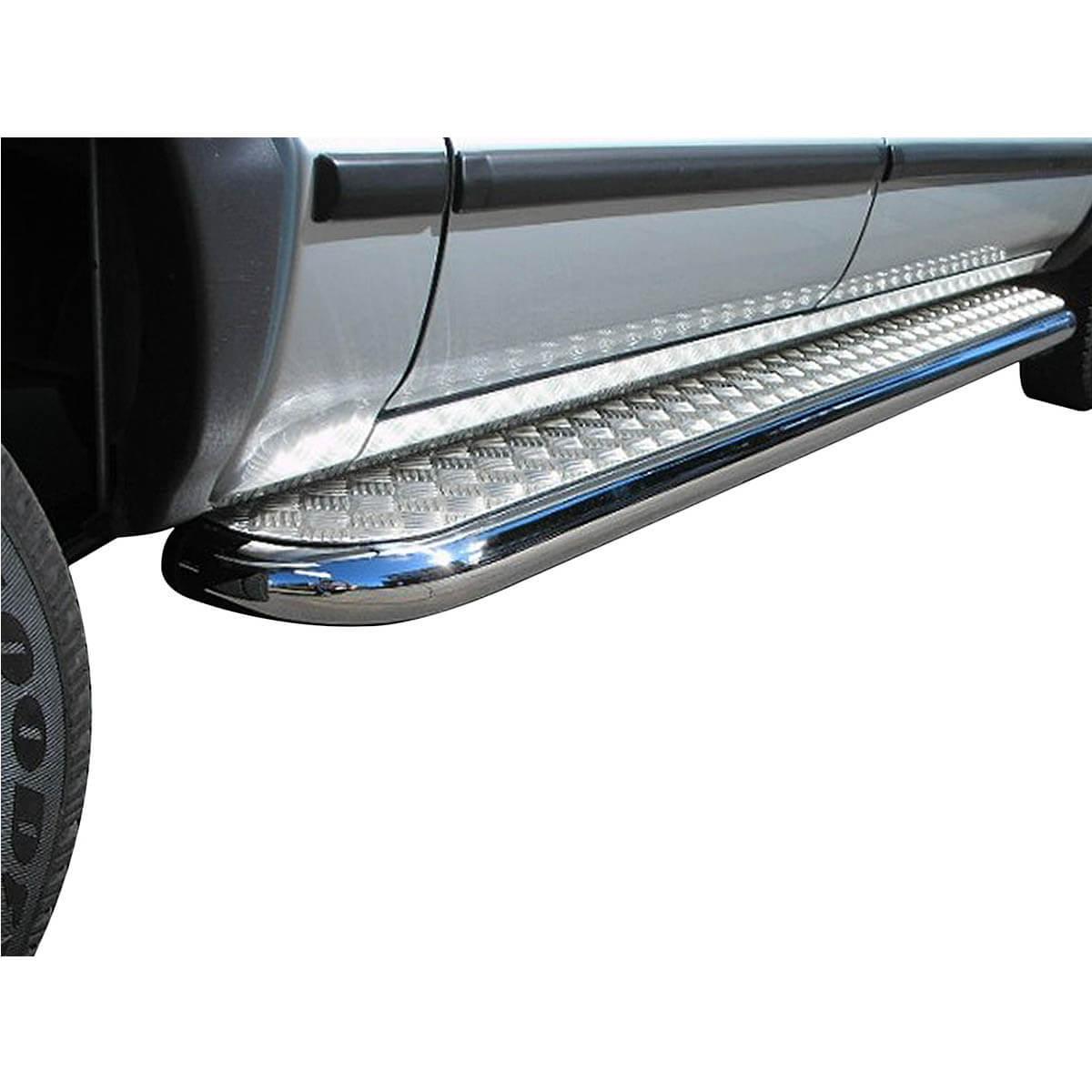 Estribo Plataforma Cromado Longo GM Silverado 190 cm