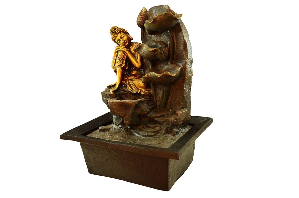 Fonte de Água G Buda de Lado 40cm