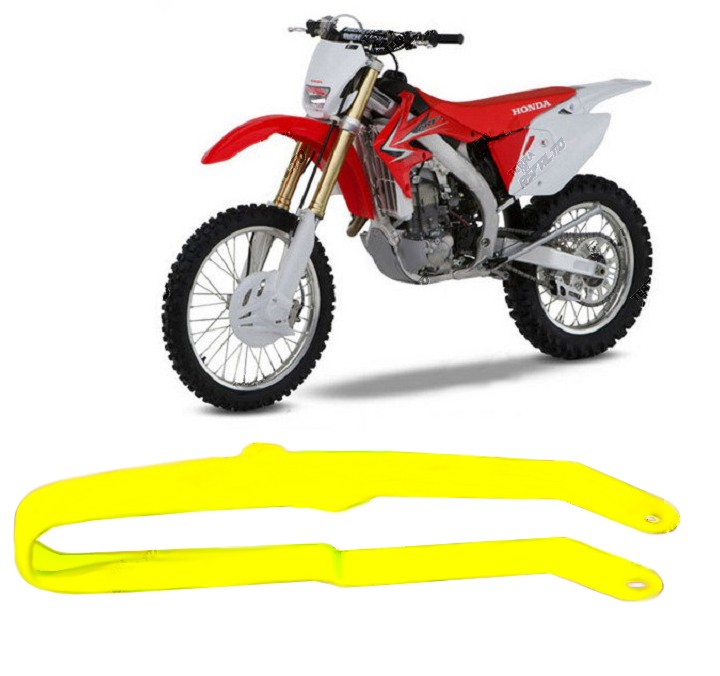 Guia de Corrente da Balança PU Amarelo Limão Fluorescente Honda CRF250 CRF450