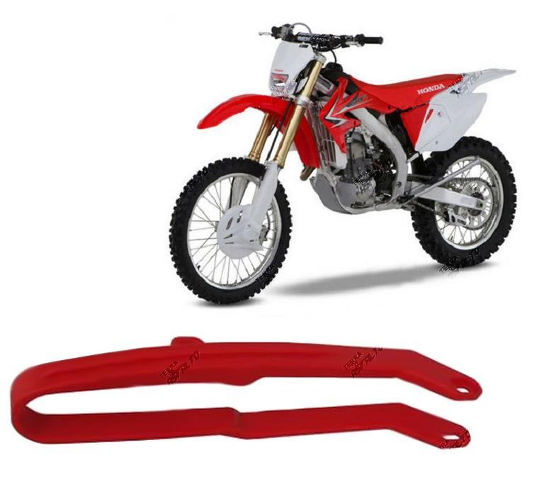 Guia de Corrente da Balança PU Vermelho Honda CRF250 CRF450