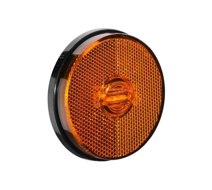 Lanterna Lateral Carreta Randon Ambar Led ( Sem Suporte )