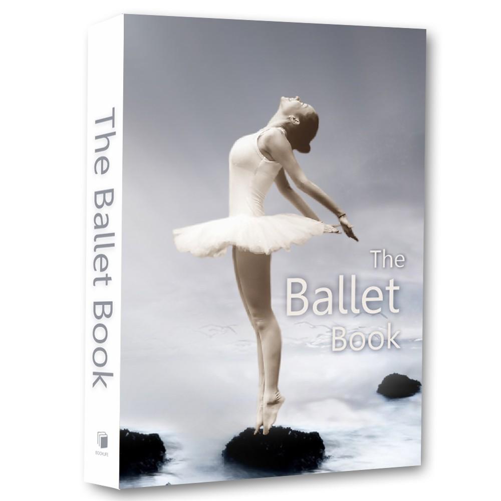 Livro Caixa Decorativo Book Ballet 36x27x5cm