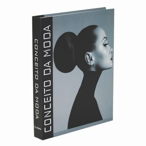 Livro Caixa Decorativo Book Box Conceito da Moda 30x24X4CM