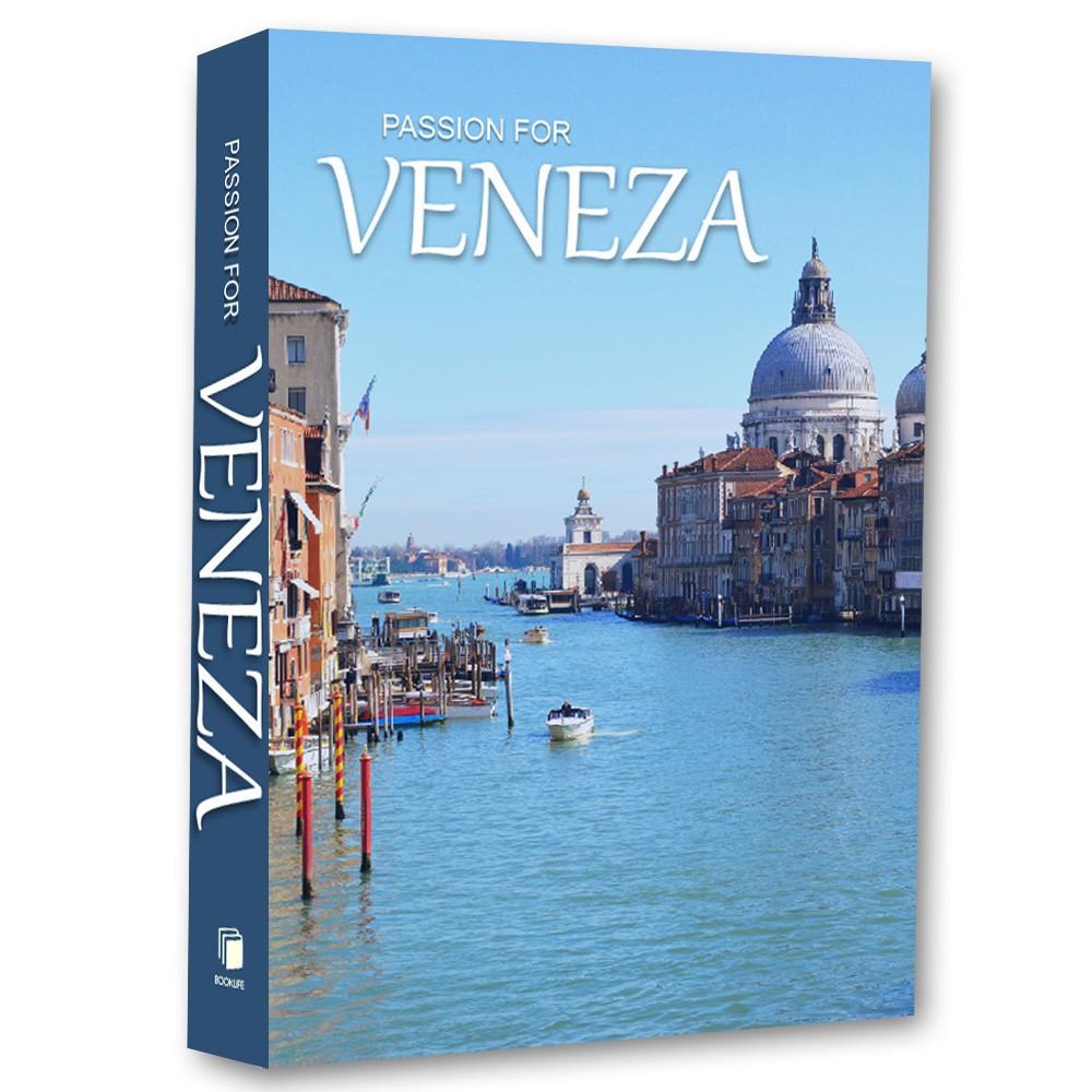 Livro Caixa Decorativo Book Passion for Veneza