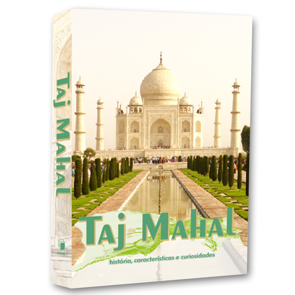 Livro Caixa Decorativo Book Taj Mahal