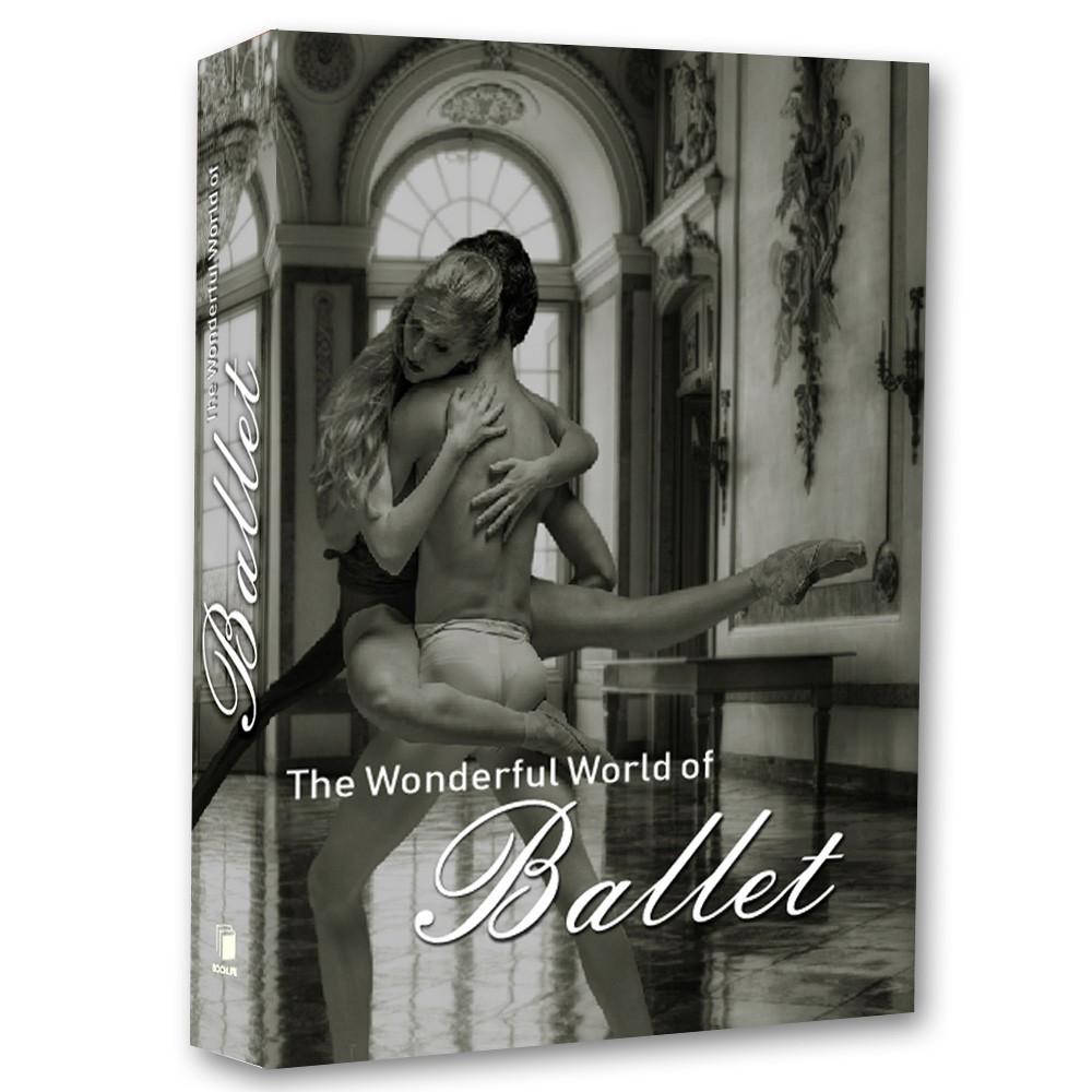 Livro Caixa Decorativo Book The Wonderful World of Ballet