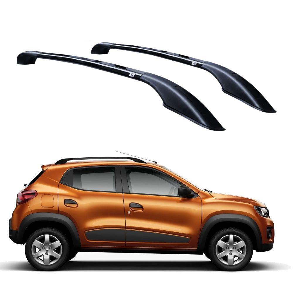 Longarina De Teto Decorativa Renault Kwid Preto