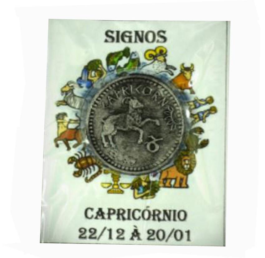Moeda C/ 10 Signo Capricórnio