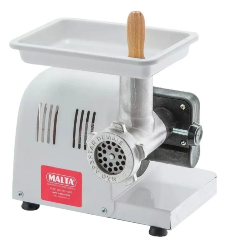 Moedor De Carne Extrusor Malta Mix Elétrico Boca 5 Bivolt