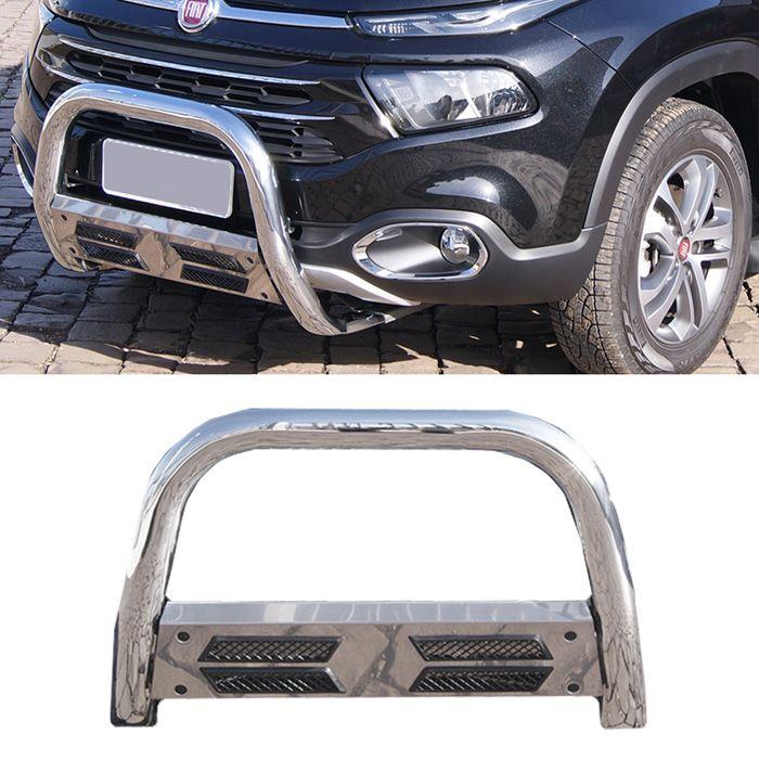 Parachoque de Impulsão Cromado Fiat Toro 4X2 - Bepo