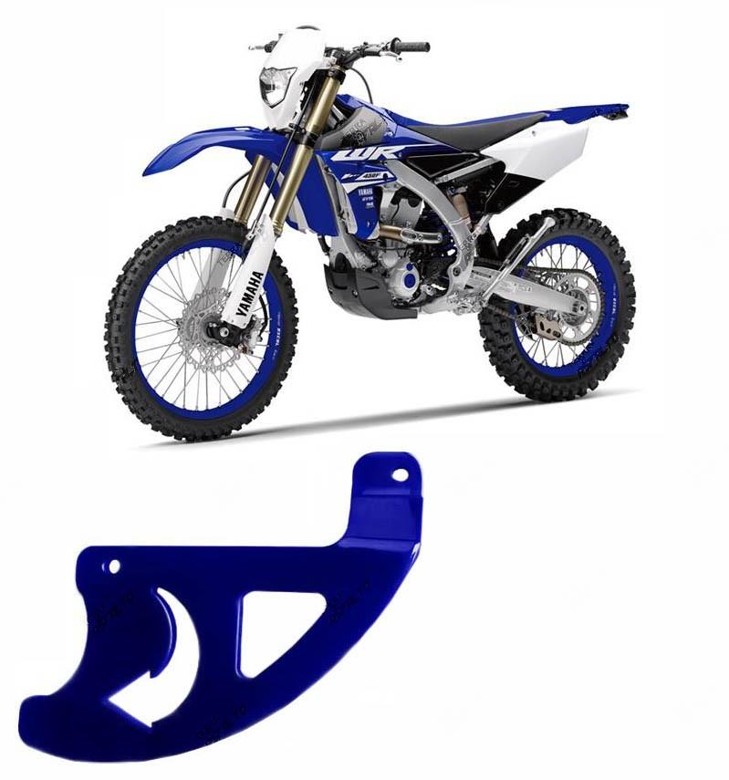 Proteção de Disco de Freio Traseiro Alumínio Azul YZF / WRF