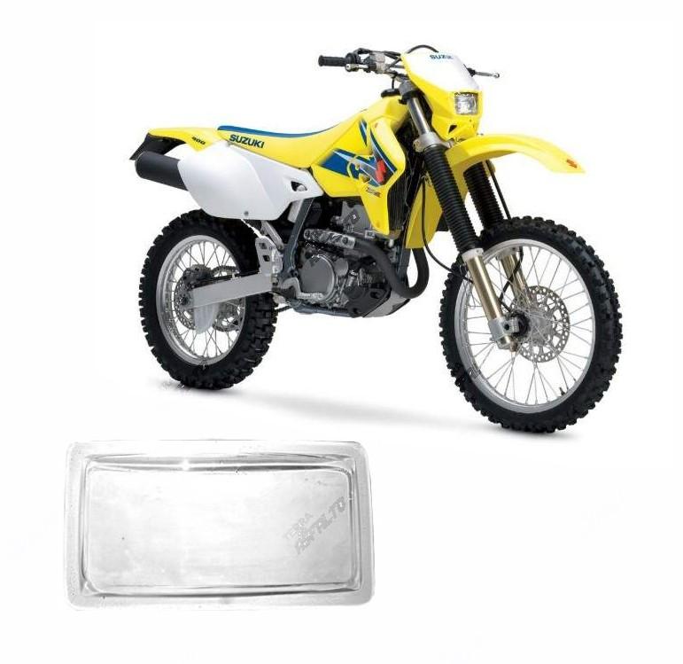 Proteção de Farol Acrílico Cristal Suzuki DRZ400