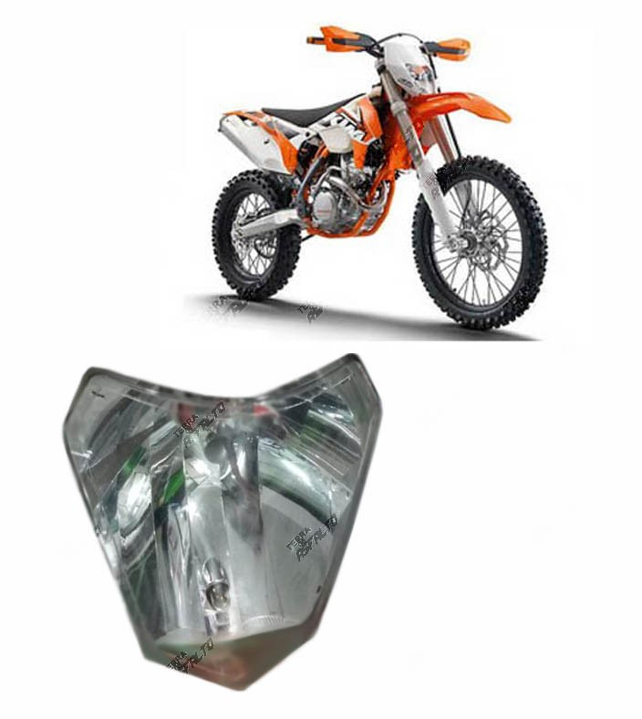 Proteção de Farol KTM 2014 a 2016 Fix. Farol Dupla Face