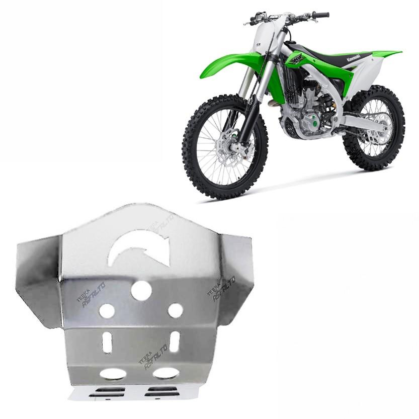 Proteção de Motor Alumínio Polido KXF 450 2010 a 2015