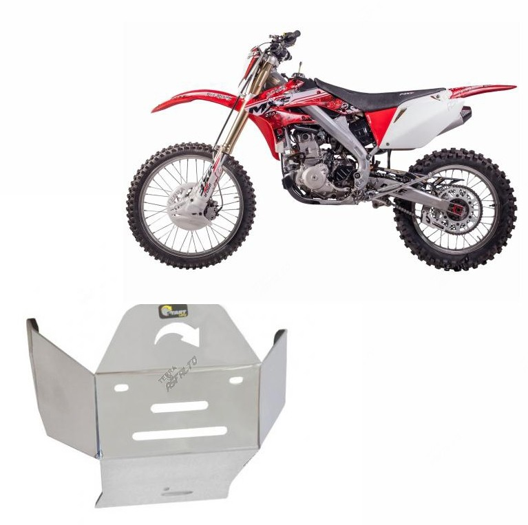 Proteção de Motor Alumínio Polido Mormai MXF 250