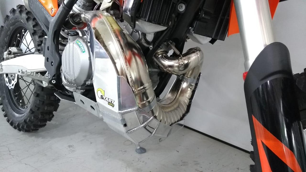 Proteção de Motor e Cano PREMIUM  KTM - EXC 300 2T - ano - 2020-2020