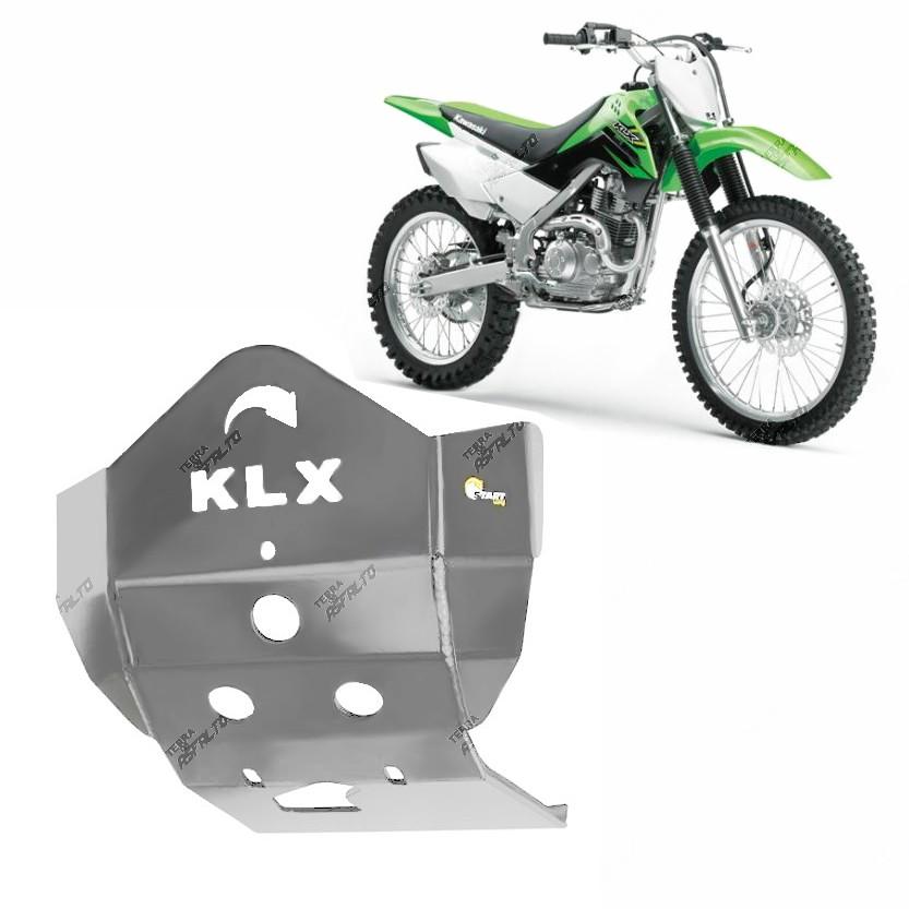 Proteção de Motor Premium Alumínio Polido KLX 450 2006 a 2015