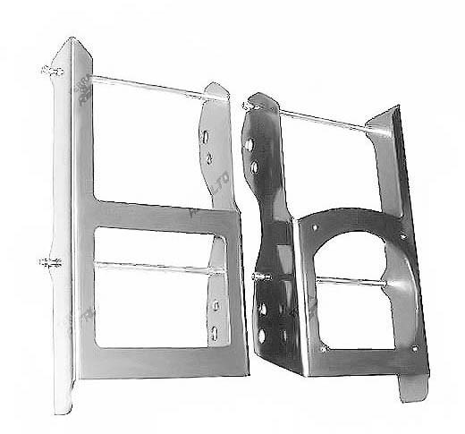 Proteção de Radiador Envolvente Alumínio Polido Sherco 4T 250/300 2011 a 2017