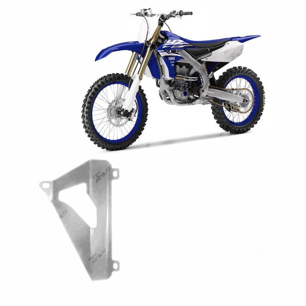 Proteção de Radiador MX Alumínio Polido Yamaha YZF250 2010 A 2013