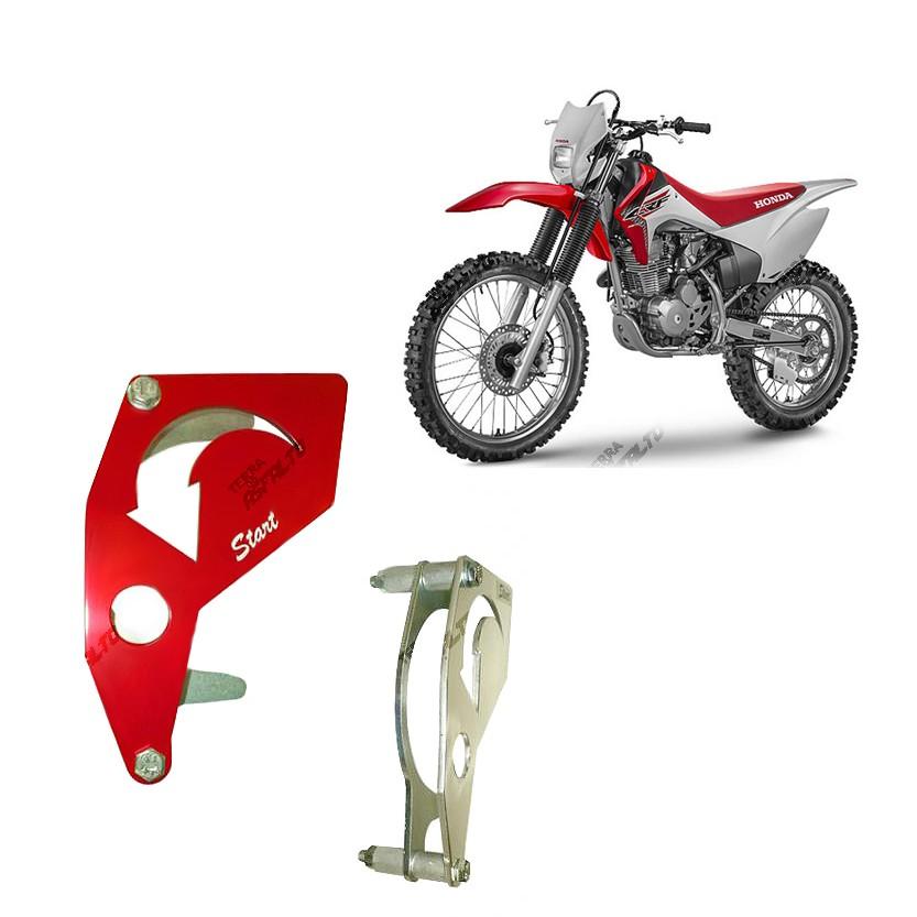 Proteção do Pinhão Alumínio Vermelho CRF230