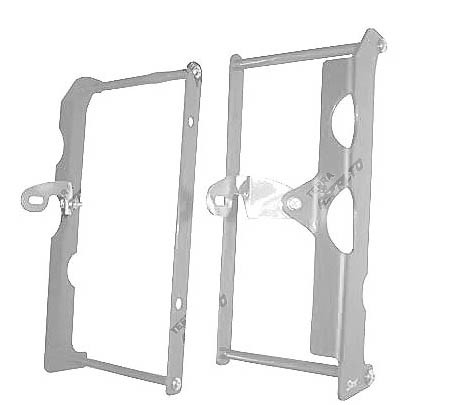 Proteção do Radiador (Envolvente) CRF450 X 2006 a 2017 Alumínio Polido