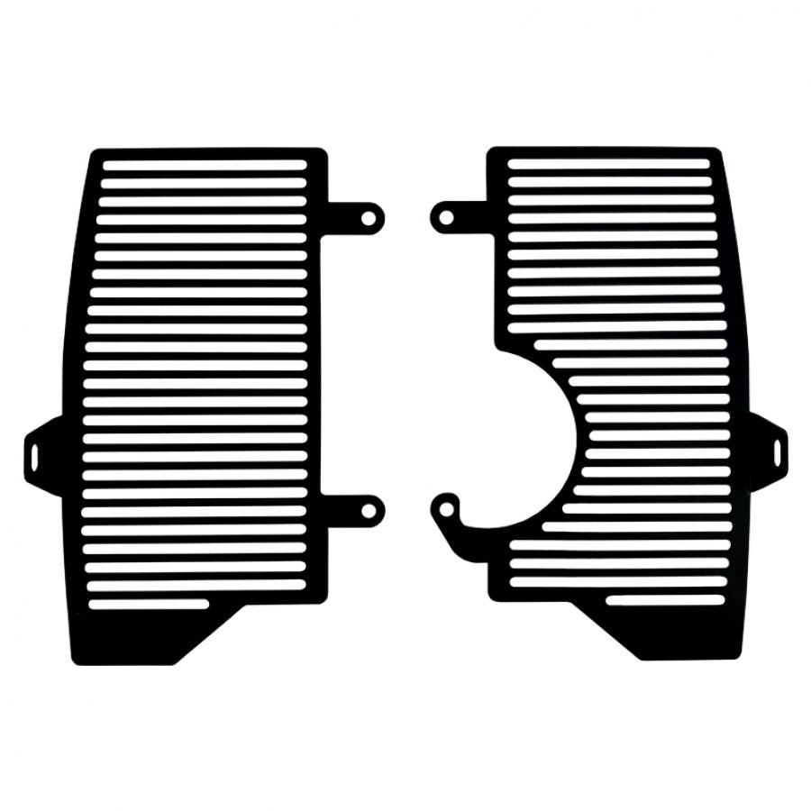 Proteção Frontal de Radiador CRF1000 L  17/19 Aço Preto Epoxi