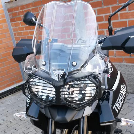 Proteção Grade de Farol Triumph Tiger 800cc  - TERRA DE ASFALTO ACESSÓRIOS